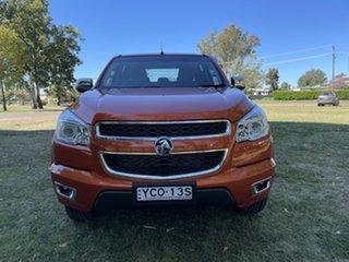 2015 Holden Colorado RG MY15 LTZ Crew Cab Alloy Orange 6 Speed Sports Automatic Utility.