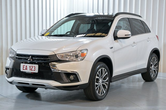 Used Mitsubishi ASX XC MY19 Exceed 2WD Hendra, 2019 Mitsubishi ASX XC MY19 Exceed 2WD White 1 Speed Constant Variable Wagon