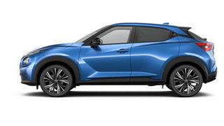 2021 Nissan Juke F16 Ti DCT 2WD Vivid Blue 7 Speed Sports Automatic Dual Clutch Hatchback