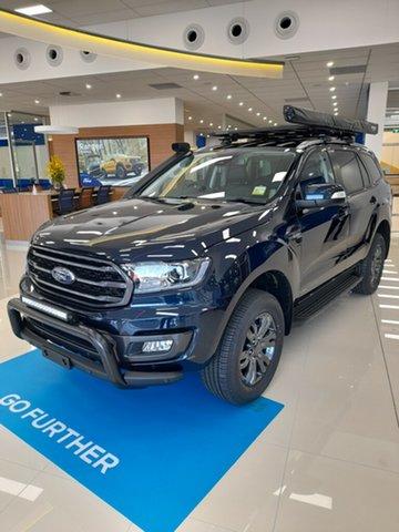 New Ford Everest UA II 2021.75MY Trend Homebush, 2021 Ford Everest UA II 2021.75MY Trend Deep Crystal Blue 6 Speed Sports Automatic SUV