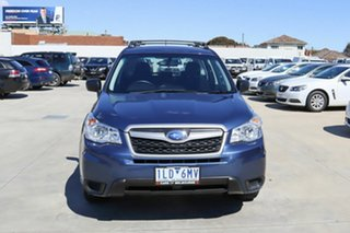 2013 Subaru Forester S4 MY13 2.5i Lineartronic AWD Blue 6 Speed Constant Variable Wagon