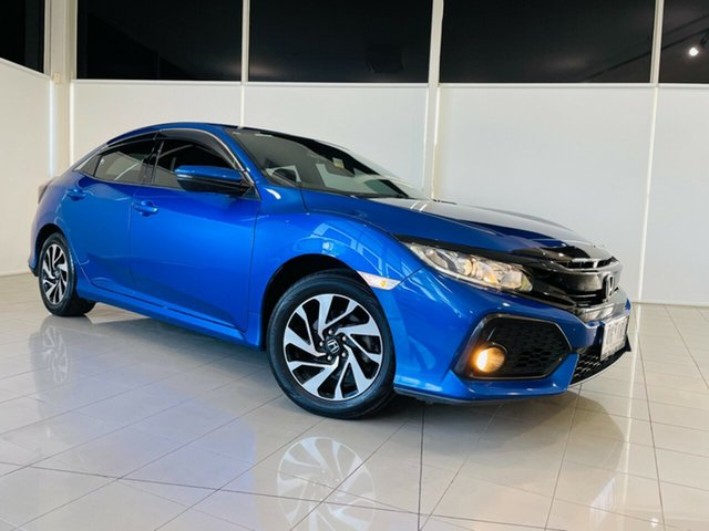 Used Honda Civic 10th Gen MY18 VTi-S Deer Park, 2018 Honda Civic 10th Gen MY18 VTi-S Blue 1 Speed Constant Variable Hatchback