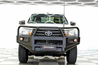 2017 Toyota Hilux GUN125R Workmate (4x4) White 6 Speed Manual X Cab Cab Chassis.