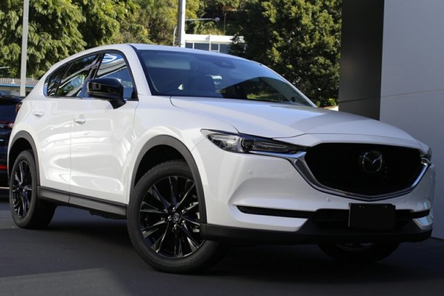 New Mazda CX-5 KF4WLA GT SKYACTIV-Drive i-ACTIV AWD SP Glendale, 2021 Mazda CX-5 KF4WLA GT SKYACTIV-Drive i-ACTIV AWD SP Snowflake White Pearl 6 Speed