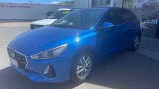 2017 Hyundai i30 PD MY18 Active Blue 6 Speed Sports Automatic Hatchback.