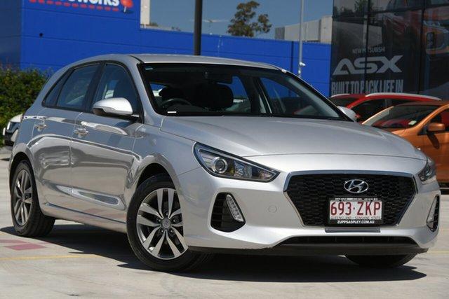 Used Hyundai i30 PD MY18 Active Aspley, 2018 Hyundai i30 PD MY18 Active Silver 6 Speed Sports Automatic Hatchback