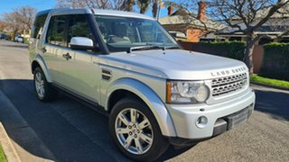2010 Land Rover Discovery 4 MY10 3.0 SDV6 SE Quartz Silver 6 Speed Automatic Wagon.