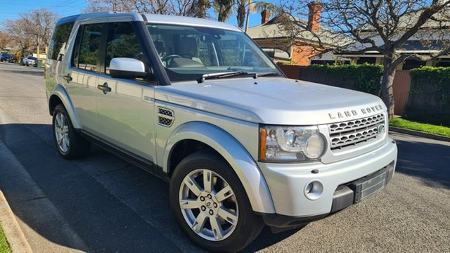 Used Land Rover Discovery 4 MY10 3.0 SDV6 SE Prospect, 2010 Land Rover Discovery 4 MY10 3.0 SDV6 SE Quartz Silver 6 Speed Automatic Wagon