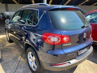 2010 Volkswagen Tiguan 5N MY10 147TSI 4MOTION Night Blue 6 Speed Sports Automatic Wagon.