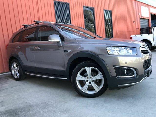 Used Holden Captiva CG MY15 7 AWD LTZ Molendinar, 2015 Holden Captiva CG MY15 7 AWD LTZ Bronze 6 Speed Sports Automatic Wagon