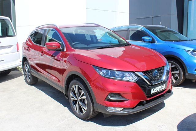 Demo Nissan Qashqai J11 Series 3 MY20 ST-L X-tronic Cardiff, 2021 Nissan Qashqai J11 Series 3 MY20 ST-L X-tronic Magnetic Red 1 Speed Constant Variable Wagon
