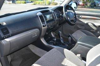 2007 Toyota Landcruiser Prado GRJ120R MY07 GXL (4x4) Silver 5 Speed Automatic Wagon