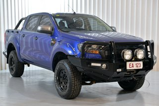 2016 Ford Ranger PX MkII XLS Double Cab Blue 6 Speed Manual Utility