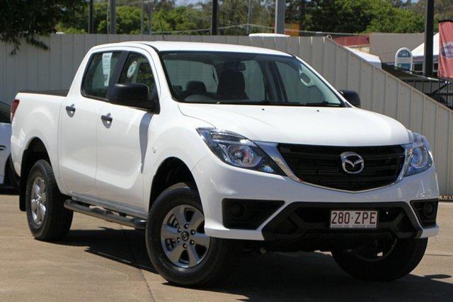 Used Mazda BT-50 UR0YG1 XT 4x2 Hi-Rider Bundamba, 2020 Mazda BT-50 UR0YG1 XT 4x2 Hi-Rider White 6 Speed Manual Utility