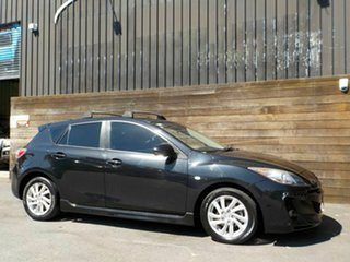 2012 Mazda 3 BL10F2 Maxx Activematic Sport Black 5 Speed Sports Automatic Hatchback.