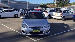 2016 Hyundai Accent RB3 MY16 Active Silver 6 Speed Constant Variable Hatchback.