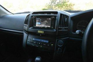 2018 Toyota Landcruiser VDJ200R GX White 6 Speed Sports Automatic Wagon