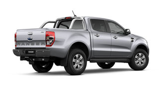 2021 Ford Ranger PX MkIII XLT Double Cab Aluminium Silver 6 Speed Automatic Pick Up