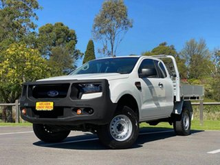 2018 Ford Ranger PX MkII 2018.00MY XL White 6 Speed Manual Utility.