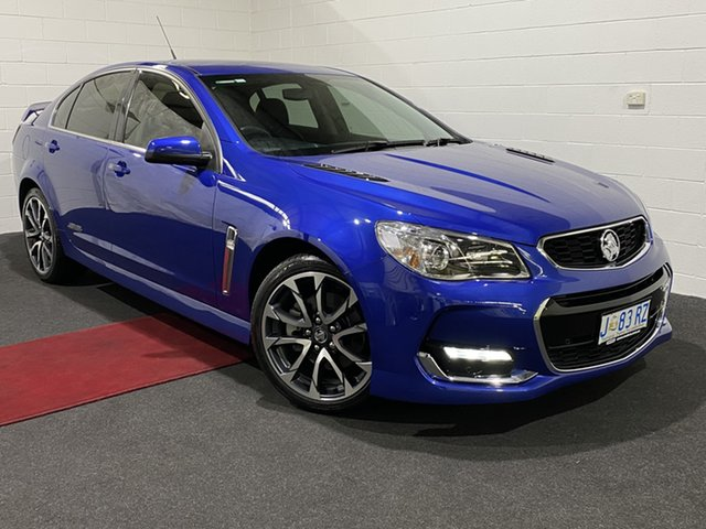 Used Holden Commodore VF II MY16 SS V Glenorchy, 2016 Holden Commodore VF II MY16 SS V Blue 6 Speed Manual Sedan