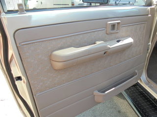 2002 Toyota Landcruiser HDJ79R RV Gold 5 Speed Manual Cab Chassis