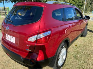 2013 Nissan Dualis J107 Series 3 MY12 +2 Hatch X-tronic 2WD ST Red 6 Speed Constant Variable