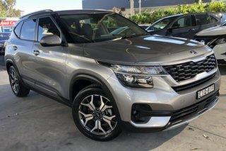 2020 Kia Seltos MY20 Sport+ (FWD) Steel Grey Continuous Variable Wagon.