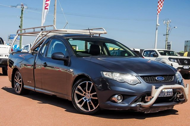 Used Ford Falcon FG XR6 Ute Super Cab Limited Edition Osborne Park, 2011 Ford Falcon FG XR6 Ute Super Cab Limited Edition Grey 6 Speed Sports Automatic Utility