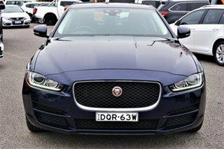 2017 Jaguar XE X760 MY17 Prestige Blue 8 Speed Sports Automatic Sedan.