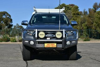 2016 Ford Ranger PX MkII XLT Super Cab Silver 6 Speed Manual Utility.
