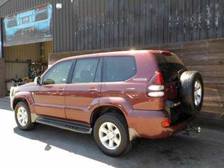 2005 Toyota Landcruiser Prado GRJ120R GXL Red 5 Speed Automatic Wagon