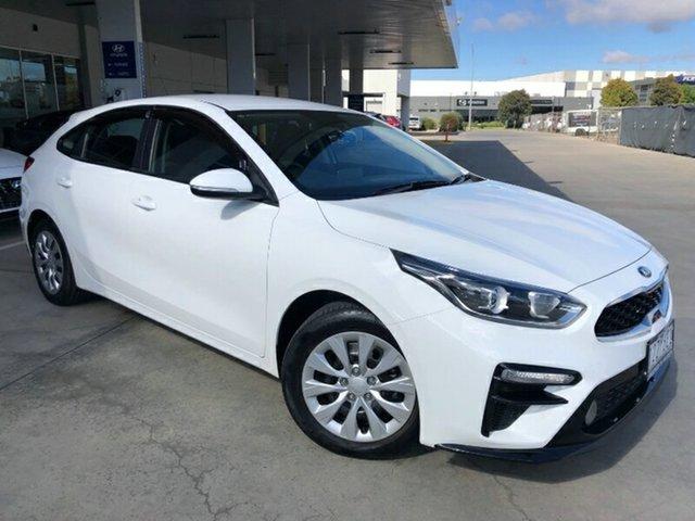 Used Kia Cerato BD MY19 S Ravenhall, 2019 Kia Cerato BD MY19 S White 6 Speed Sports Automatic Hatchback