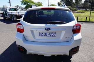 2012 Subaru XV G4X MY13 2.0i Lineartronic AWD Satin White Pearl 6 Speed Constant Variable Wagon