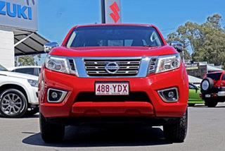 2015 Nissan Navara D23 ST 4x2 Red 6 Speed Manual Utility.