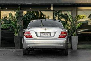 2011 Mercedes-Benz C-Class W204 MY11 C250 BlueEFFICIENCY 7G-Tronic + Elegance Silver 7 Speed