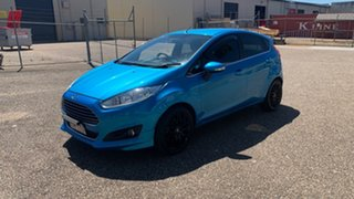 2014 Ford Fiesta WZ Sport Blue 6 Speed Automatic Hatchback