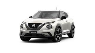 2021 Nissan Juke F16 ST-L DCT 2WD Ivory Pearl 7 Speed Sports Automatic Dual Clutch Hatchback.