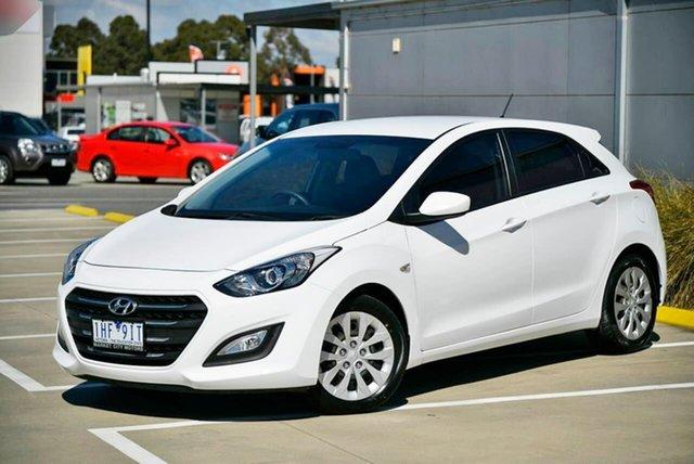 Used Hyundai i30 GD4 Series II MY17 Active Pakenham, 2016 Hyundai i30 GD4 Series II MY17 Active White 6 Speed Sports Automatic Hatchback