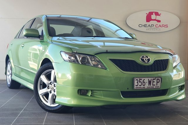 Used Toyota Camry ACV40R Sportivo Brendale, 2007 Toyota Camry ACV40R Sportivo Green 5 Speed Automatic Sedan