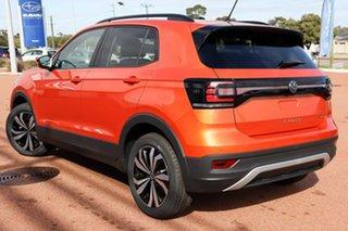 2021 Volkswagen T-Cross C1 MY21 85TSI DSG FWD CityLife Energetic Orange 7 Speed.