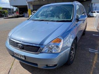 2013 Kia Grand Carnival VQ MY14 Platinum Blue 6 Speed Sports Automatic Wagon.