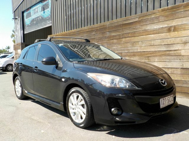Used Mazda 3 BL10F2 Maxx Activematic Sport Labrador, 2012 Mazda 3 BL10F2 Maxx Activematic Sport Black 5 Speed Sports Automatic Hatchback