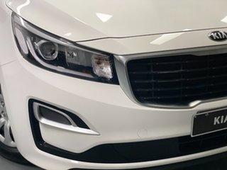 2019 Kia Carnival YP MY19 S White 8 Speed Sports Automatic Wagon.
