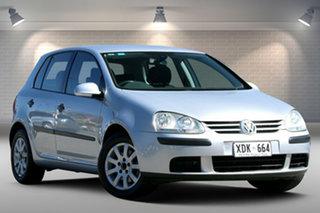 2004 Volkswagen Golf 4th Gen MY04 Generation Silver 4 Speed Automatic Hatchback.