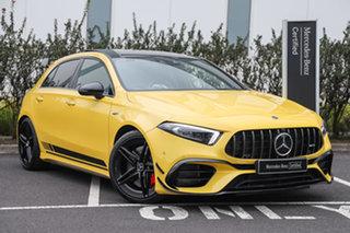 2020 Mercedes-Benz A-Class W177 800+050MY A45 AMG SPEEDSHIFT DCT 4MATIC+ S Sun Yellow 8 Speed.