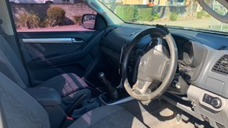 2013 Holden Colorado RG LX (4x4) Grey 5 Speed Manual Crew Cab Pickup