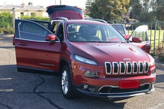 2014 Jeep Cherokee KL MY15 Limited (4x4) Red 9 Speed Automatic Wagon