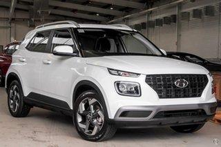 2021 Hyundai Venue QX.V3 MY21 Active White 6 Speed Automatic Wagon.