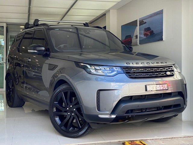 Used Land Rover Discovery Series 5 L462 MY18 HSE Luxury Brookvale, 2018 Land Rover Discovery Series 5 L462 MY18 HSE Luxury Grey 8 Speed Sports Automatic Wagon