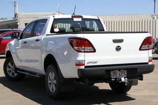 2020 Mazda BT-50 UR0YG1 XT 4x2 Hi-Rider White 6 Speed Manual Utility.